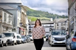 Fay Jones MP in Crickhowell