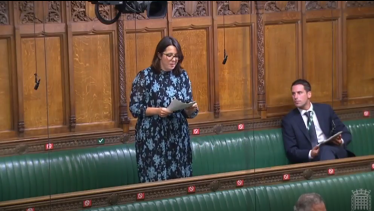 Fay Jones MP in the House of Commons